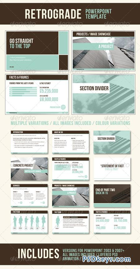 powerpoint templates torrents - retrograde powerpoint template 235144 free download