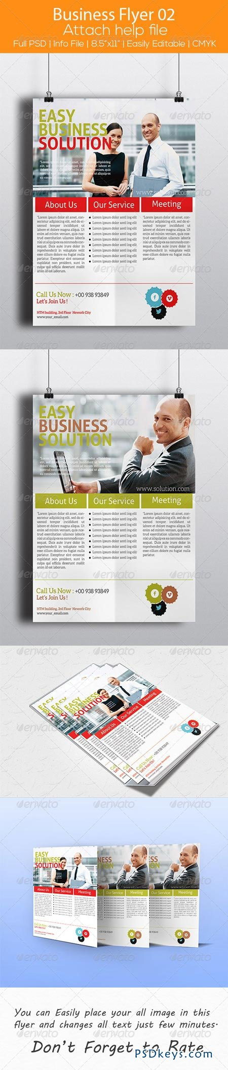 Business Flyer 02 6950809
