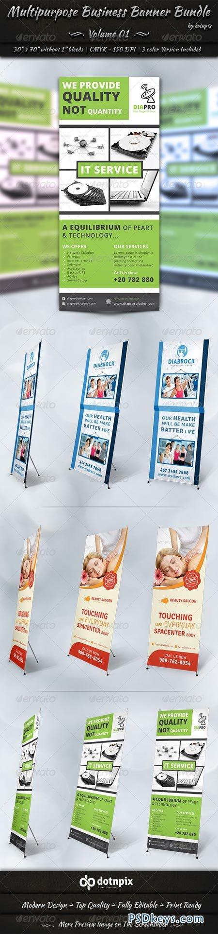 Multipurpose Business Banner Bundle Volume 1 7002958