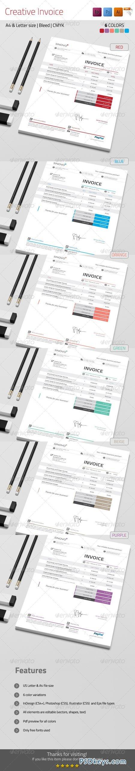 Creative Invoice 7225899