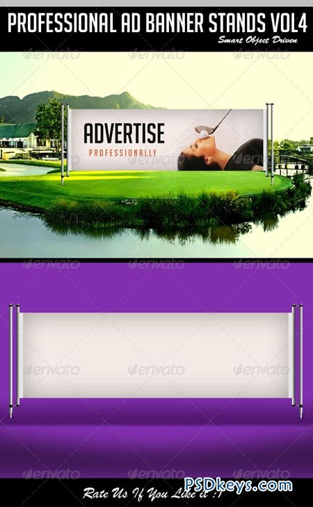 Ad Banner Stand Mockup vol 4 6945908