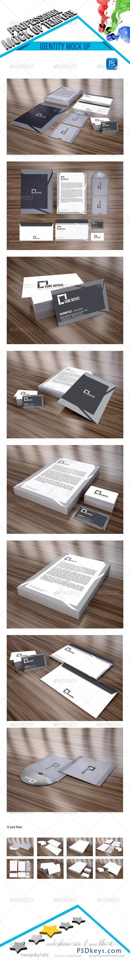 Stationery Branding Mock-Up v2 4542155