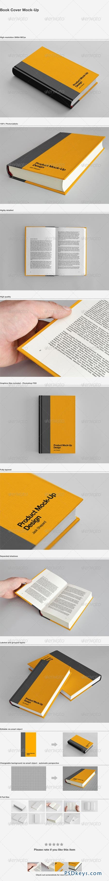 Book Cover Mock-Up 1687037