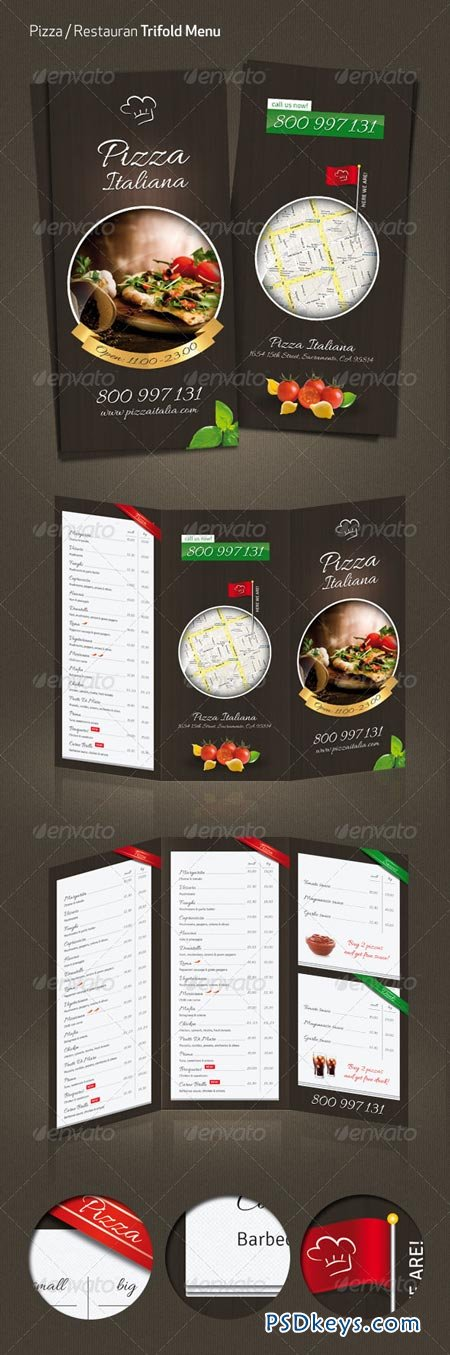 Pizza Restaurant Menu 3607666