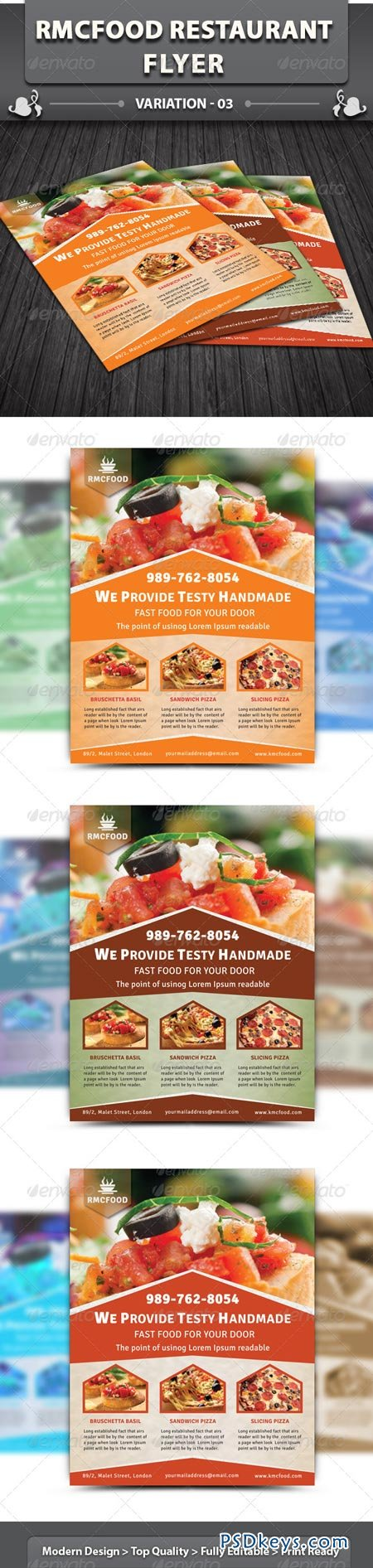Restaurant Business Flyer Volume 11 5541004