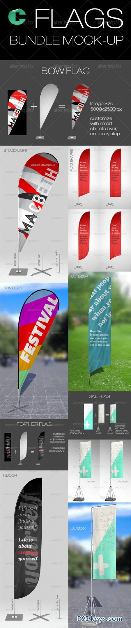 Flags Bundle Mock-up 6885977