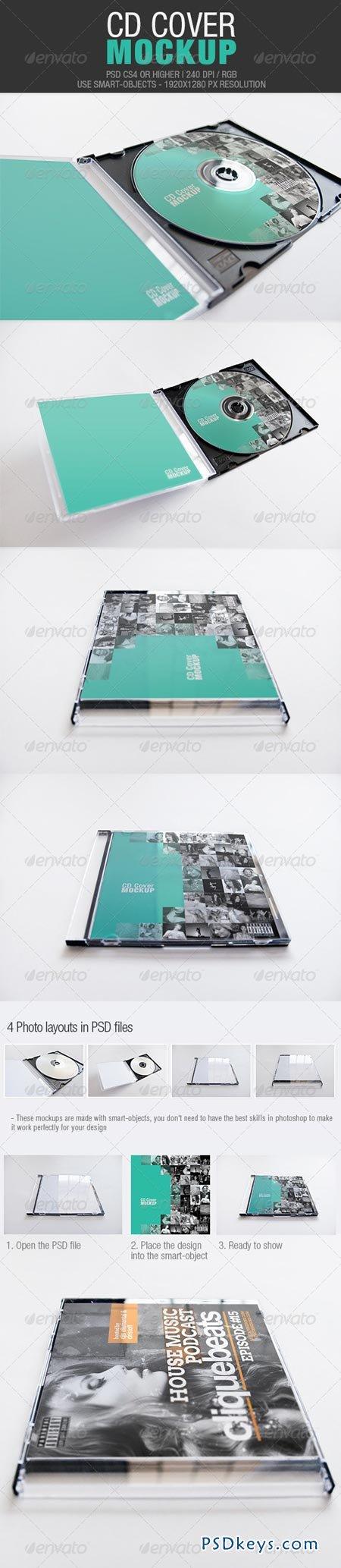 CD Cover Mockup 4244724