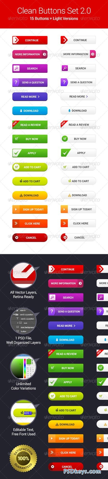 Clean Web Buttons 2.0 6769242
