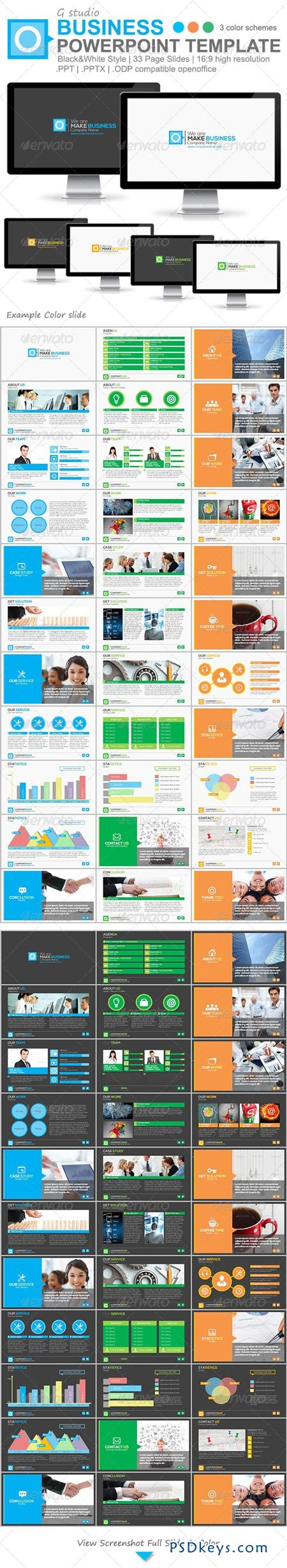 Gstudio Business Powerpoint Template 4814797