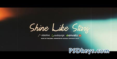 Shine Like Stars - After Effects Project