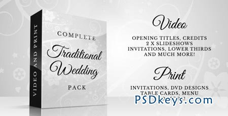 Complete Traditional Wedding Pack - After Effects Project
