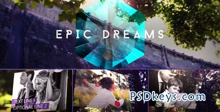 Epic Dreams Gallery - After Effects Project