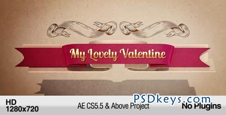 My Lovely Valentine - After Effects Project