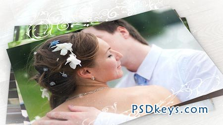 Wedding Photo Gallery with Ornament - After Effects Projects