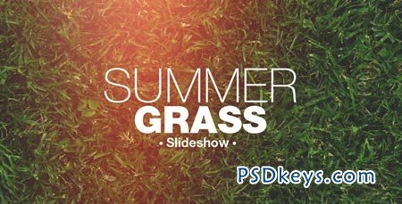 Grass Slideshow - After Effects Projects