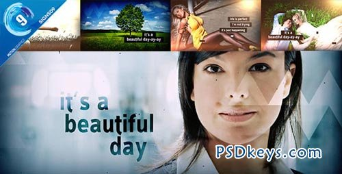 It's A Beautiful Day Slideshow  - After Effects Projects