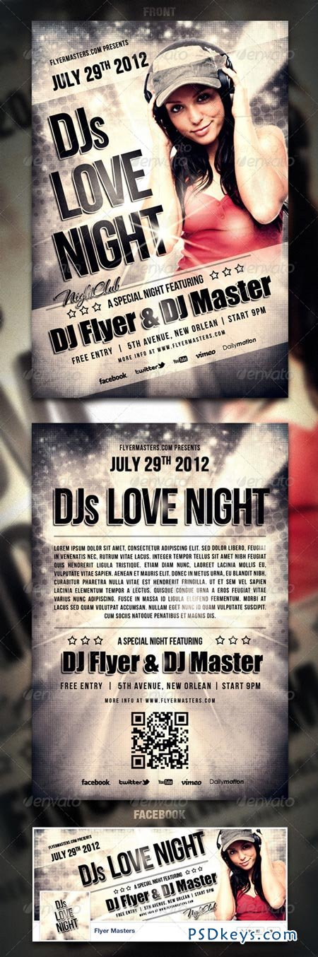 Love Night Flyer Poster 2762856