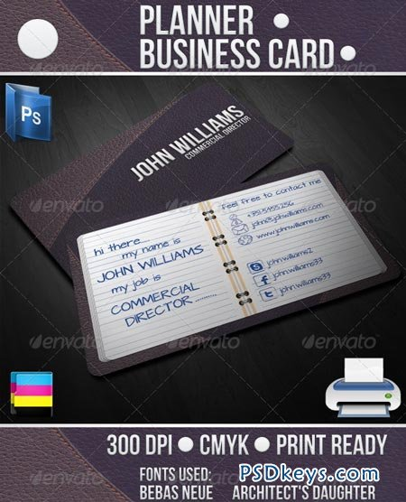 Planner Business Card 2205632