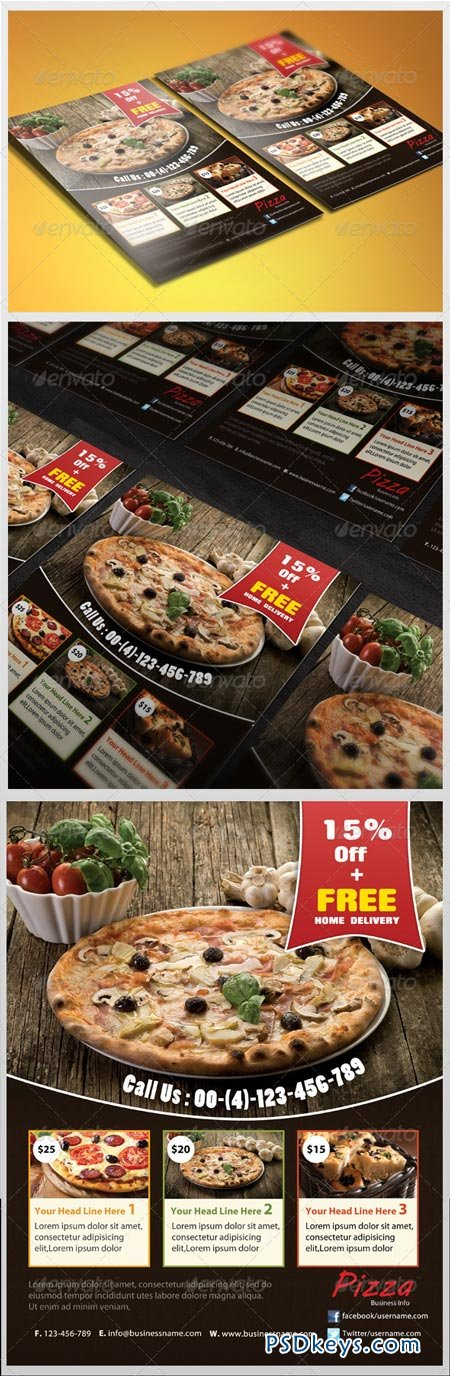 Pizza Flyer 3534515