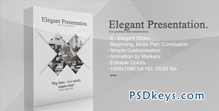 Elegant Presentation - After Effects Projects