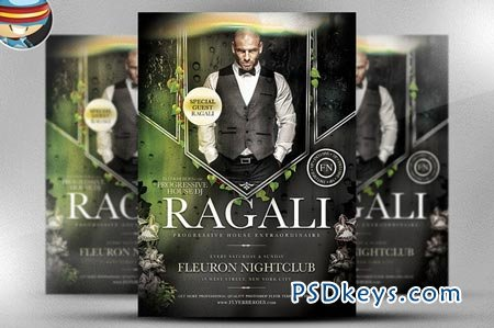 Ragali PSD Flyer Template 36940