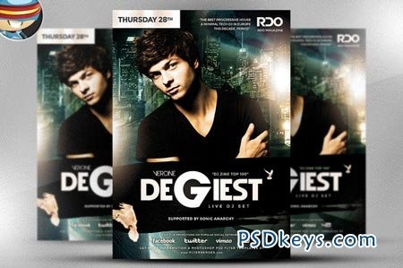 Degiest PSD Flyer Template 36942