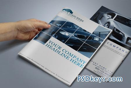 Automobile Brochure Template 15297