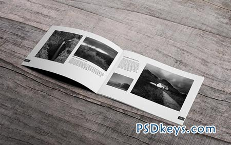 creativemarket minimal photography portfolio book 24750