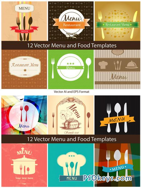 Vector - Food Templates 35644