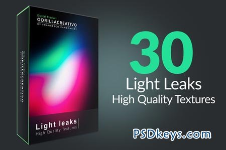 Light Leaks - High Quality Textures 35402