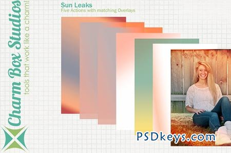 Sun Leaks Overlays 10267