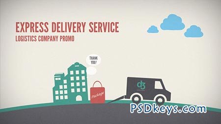 Logistics Company Delivery Promo - After Effects Projects