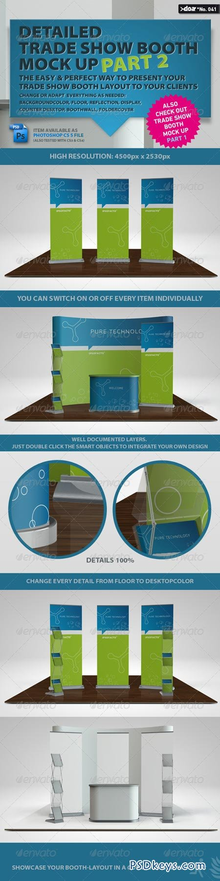 Trade Show Booth Mock Up PART 2 62840
