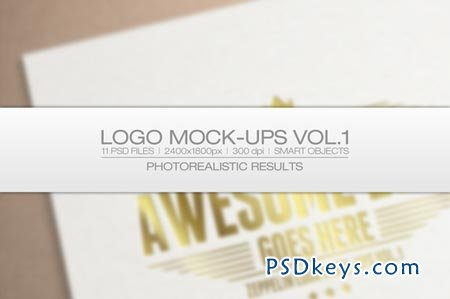 Logo Mock-ups Vol.1 27577