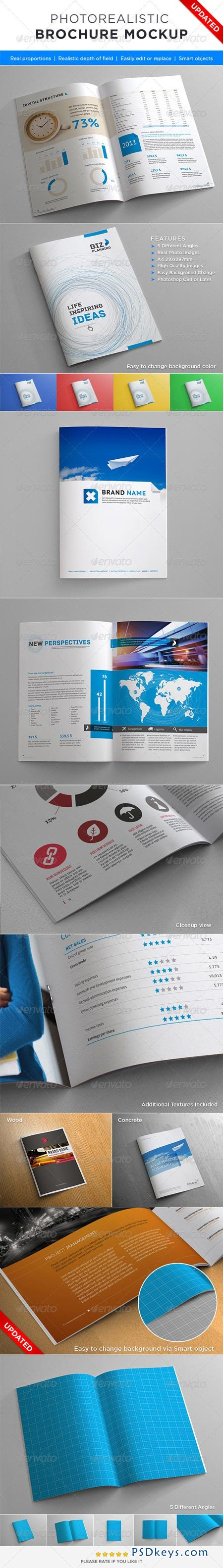 Photorealistic Brochure Mock-up 2356999