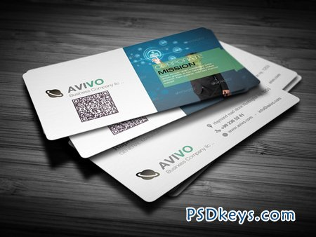 Professional Business Card 7758
