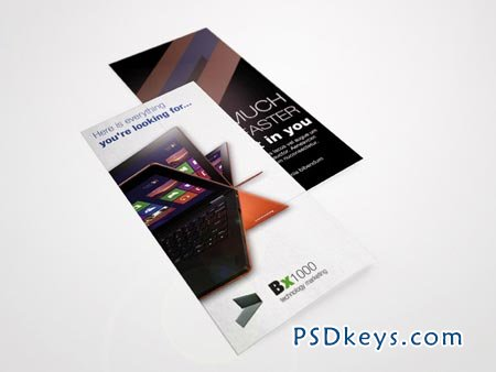 Laptop Tri-Fold Brochure 10253