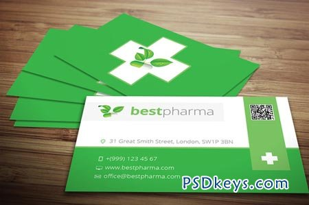 Pharmacy business card 19941 free download photoshop vector stock pharmacy business card 19941 reheart Images