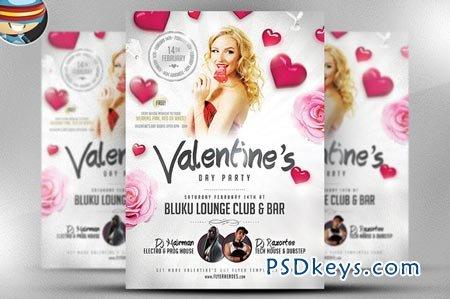 Valentine's Party Flyer 20046