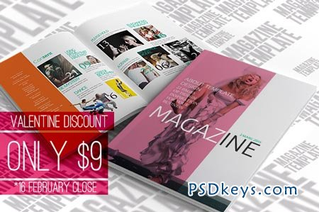 indesign magazine template 23386 » free download photoshop vector, Powerpoint templates