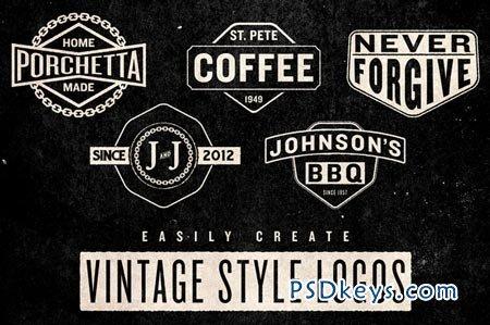 Vintage Logo Pack 26616