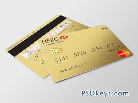 Credit Card Mockup 7803