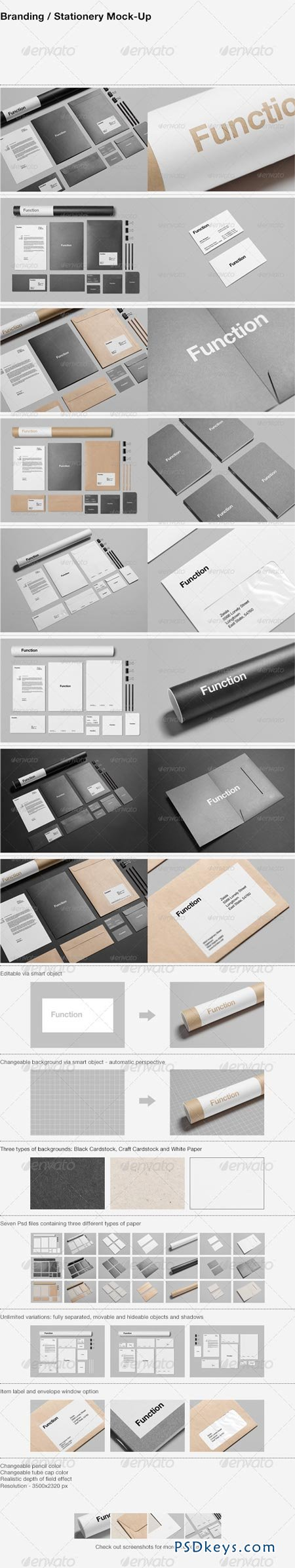 Branding Stationery Mock-Up 5598480