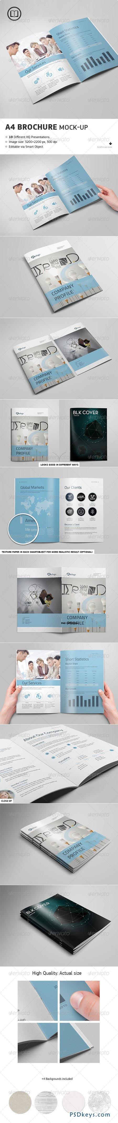 Brochure Catalog Mock-Up 7672767