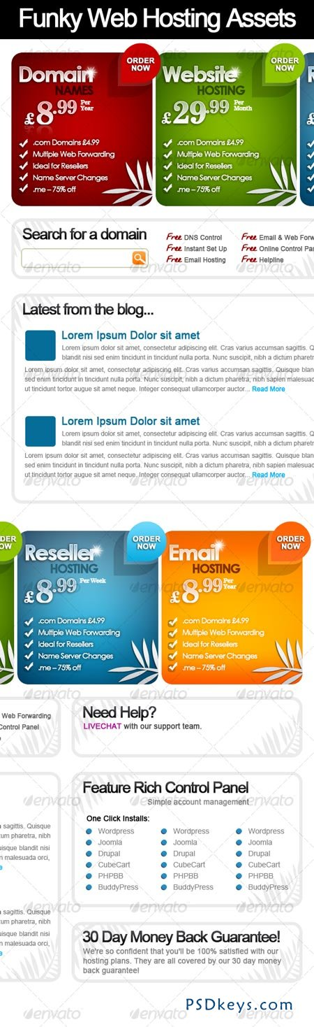 Web Pricing Tables Web Hosting Tables 105271