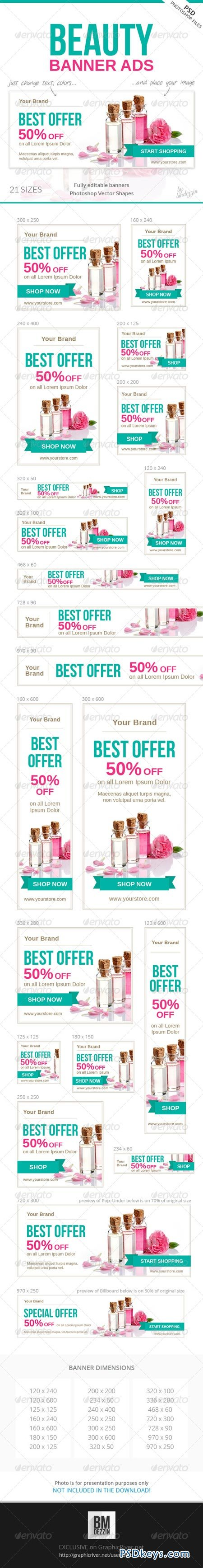 Beauty Banner Ads 7675465