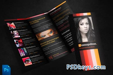 Cosmopolitan Leaflet Template