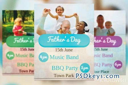 Father's Day Flyer 41847