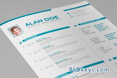 Professional Resume & Cover Letter 41785