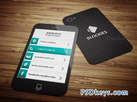 Exclusive smart phone business card free download photoshop exclusive smart phone business card reheart Images